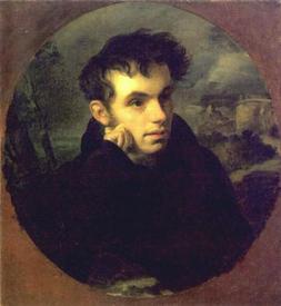 В.А. Жуковский в 1815 г. (портрет О. А. Кипренского)