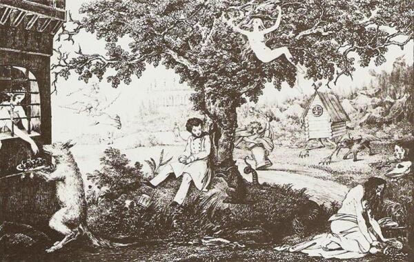 Как родилась сказка Пушкина о попе и Балде?