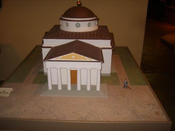 Макет Собора св. Иосифа (музей истории Могилева)