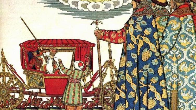 Сцена непреднамеренного убийства скопца жезлом сразу же воскрешает в памяти гибель сына Ивана Грозного.
