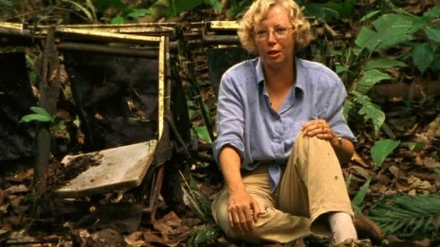 Кадр из документального фильма «Julianes Sturz in den Dschungel»