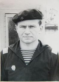 Старшина I-й статьи на 41-м катере - Чеслав Юревич. 1964-65 гг.