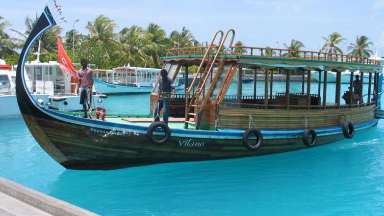 Мальдивы. Дони - местный неспешный вид транспорта