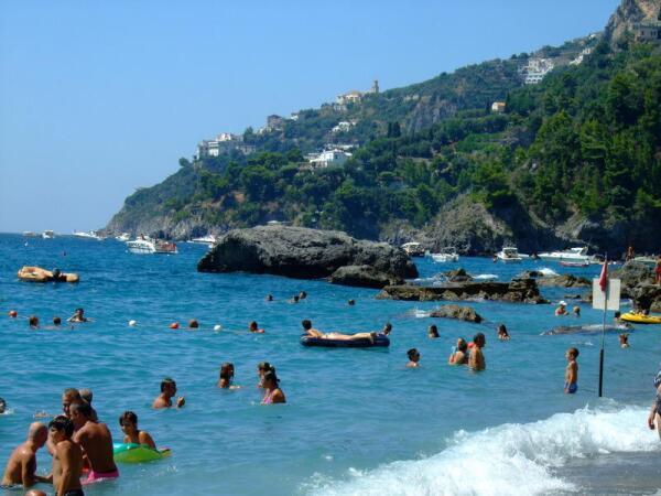 Италия. Пляжи Амальфитанского побережья
