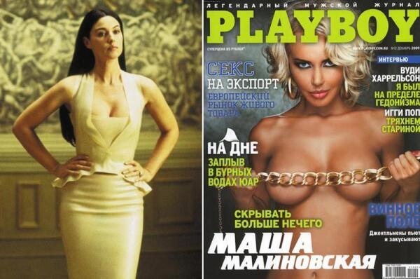 Роскошная актриса Моника Белуччи и российская