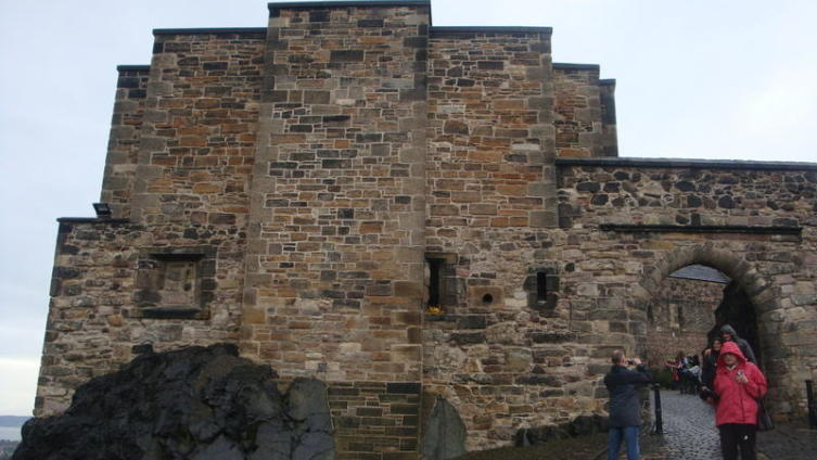 Эдинбургский замок, ворота Фуг