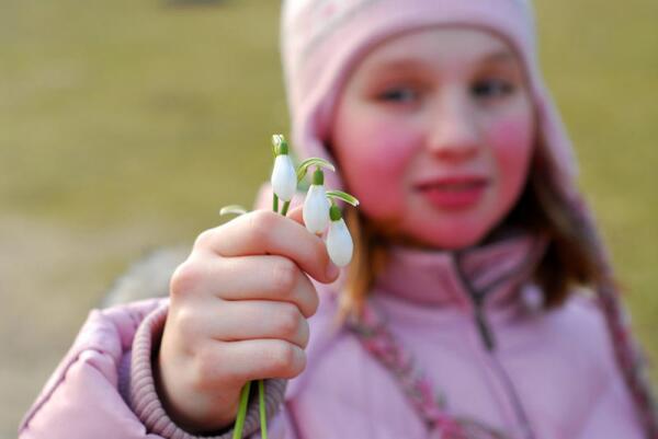 Что почитать ребёнку о весне?