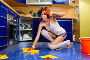 Жена - любимая женщина или домработница?
