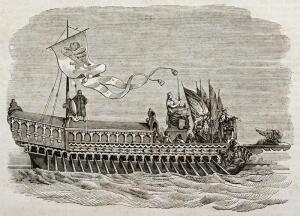 Каким был античный морской флот? От лодки до галеры