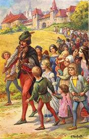В «Немецкие предания» братьев Гримм вошла и знаменитая легенда о Гаммельнском Крысолове