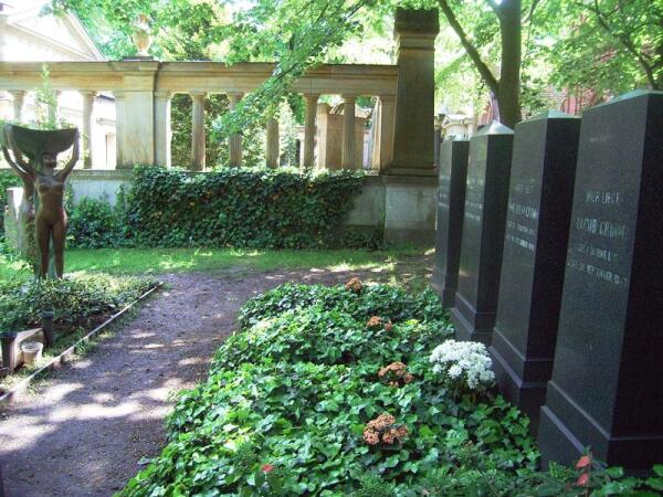 Могилы братьев Гримм в Шёнеберге, Берлин