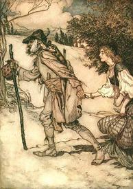Загримированный Король-Дроздобород знакомит капризную принцессу с тяготами и лишениями жизни простолюдинки