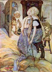 Рисунок Энн Андерсон к сказке