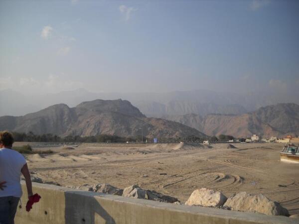 Горы Омана, которым миллионы лет