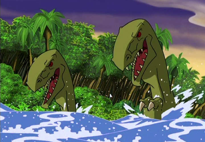 Затерянный мир остров динозавров