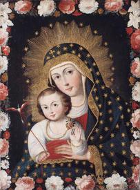 Мадонна и Младенец с птичкой