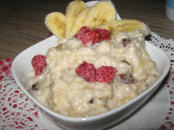 Готовый завтрак-десерт