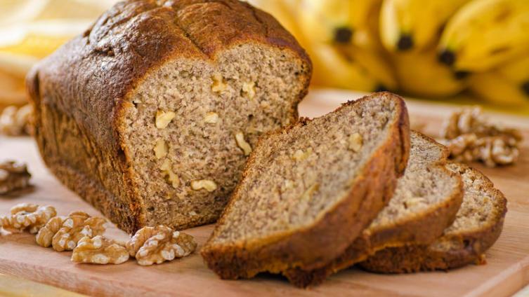 Как приготовить банановый хлеб? Просто, вкусно и очень полезно