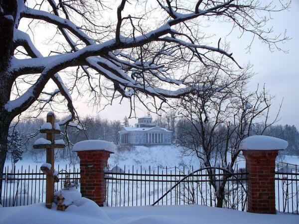 п.Рождествено зимой