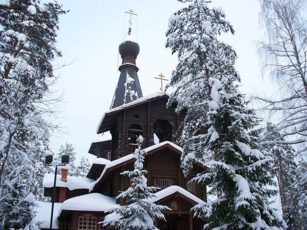Храм иконы Казанской Божьей матери в п.Вырица