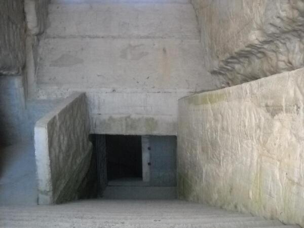 Вход в каменоломни
