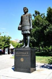 Памятник Филиппу II в Фесалониках (Греция)