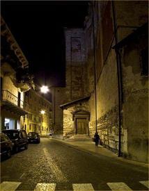 В Вероне поздно ночью