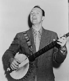 Пит Сигер в 1955 году