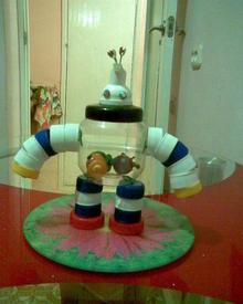 Это робот, сделанный для внука