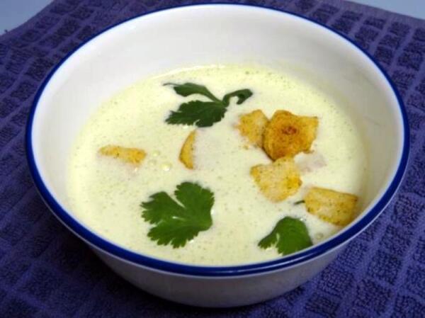 Горячий суп готов через 5 минут!