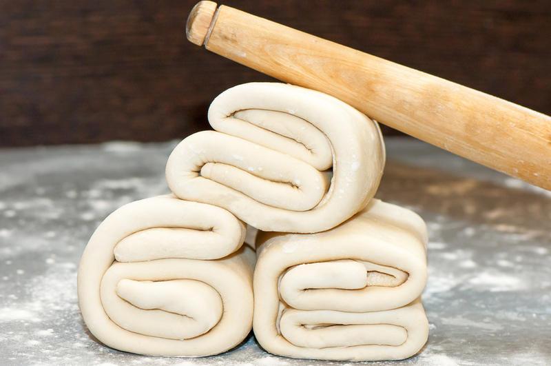 Пресное слоеное тесто как приготовить — pic 3