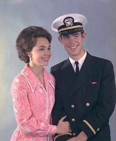 Джули Никсон и Дэвид Эйзенхауэр, вдохновившие Фогерти на песню