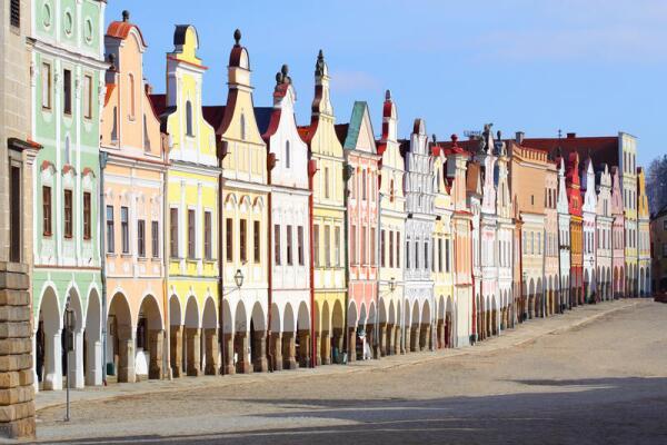 Телч - чешская Венеция?