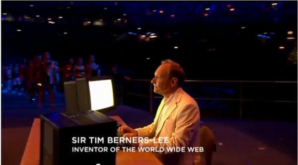 Мир приветствует изобретателя Всемирной паутины на открытии Олимпийских игр в 2012 году