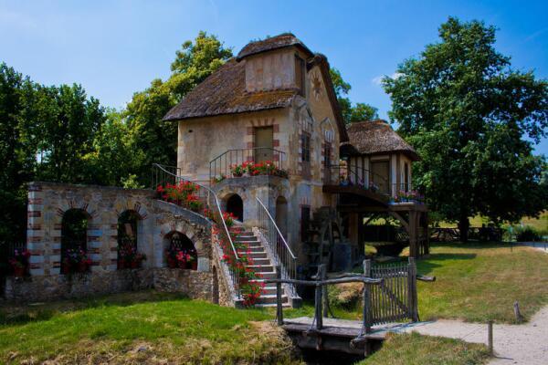 Мельница в деревеньке королевы