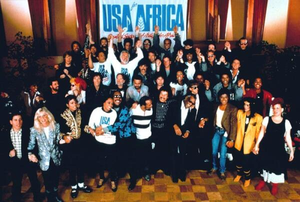 USA в названии сборной группы USA FOR AFRICA на самом деле расшифровывалась, как «United Support of Artists» (