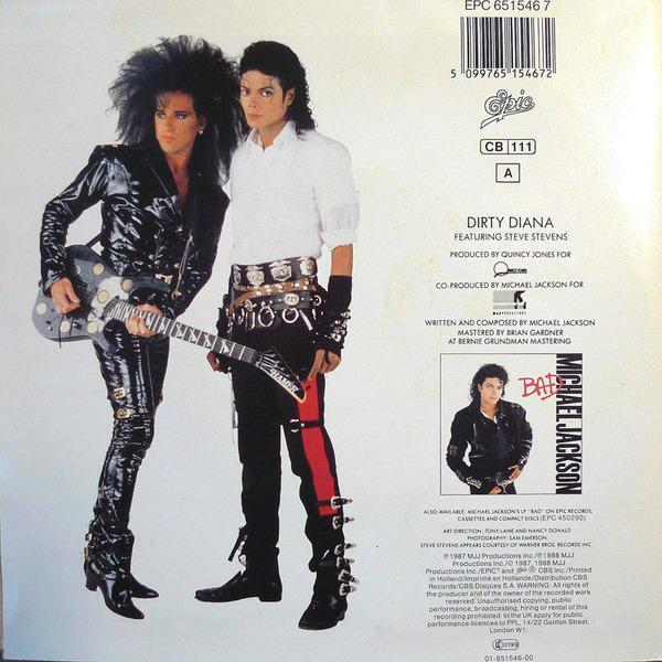 Майкл Джексон и Стив Стивенс