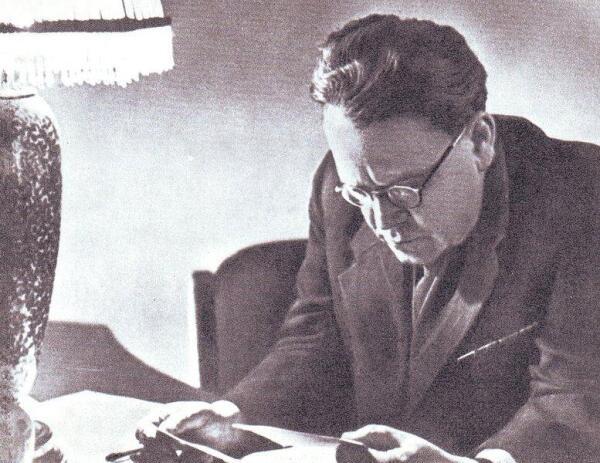 Маршак за рапботой, 1947 г.