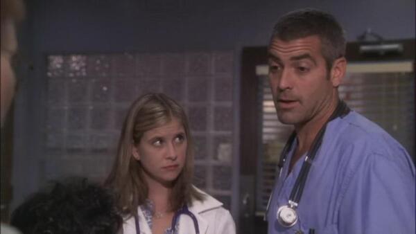 Это сериал «Скорая помощь», который познакомил нас с умопомрачительным Джорджем Клуни.