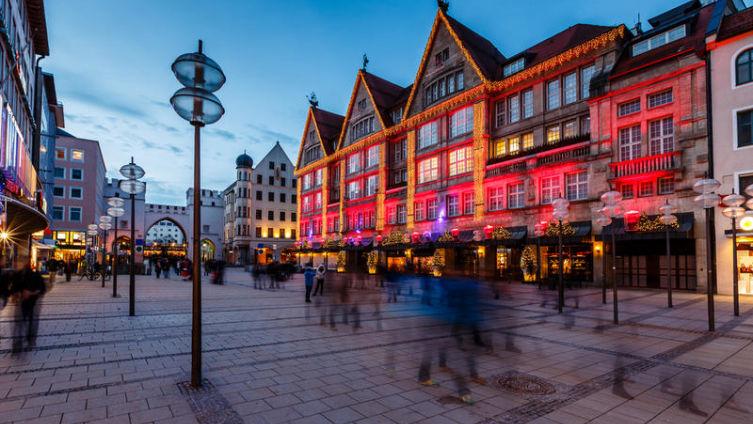 Что красит живописный Мюнхен?