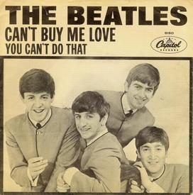 В 1964 г. любой сингл БИТЛЗ тот час попадал на первые места хит-парадов