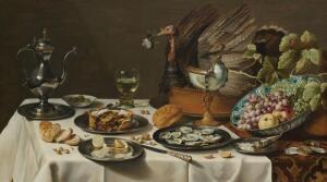 Натюрморт Питера Класа «Пирог с индюком». О чем говорит индюк?