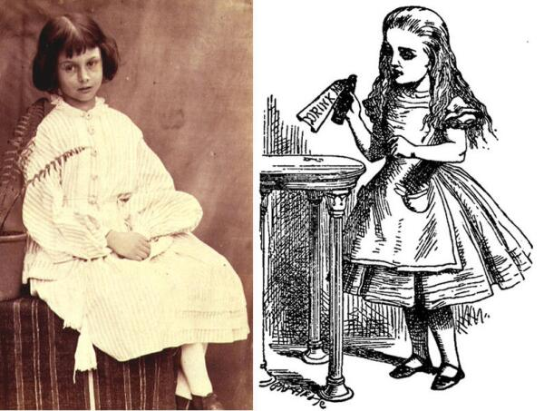 Алиса из жизни и Алиса из книги. Обладая фотографической памятью, Тенниел почти никогда не рисовал с натуры