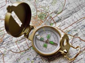 Инструкцию как пользоваться компасом