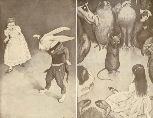 Рисунки Питера Невилла (1901)