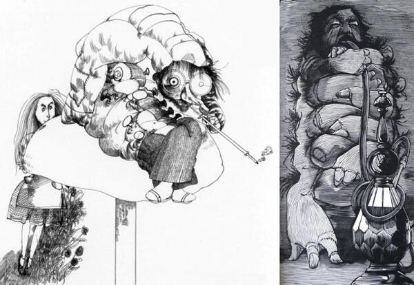 Иллюстрации Ральфа Стедмэна (1967) и Барри Мозера (1982)