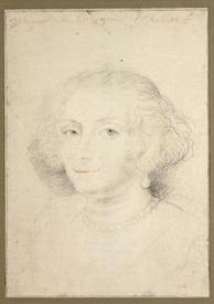 Рубенс. Катарина Маннерс. 1625, 36.7 x 26.3 cm, Albertina Graphic Art Databank, Вена, Австрия