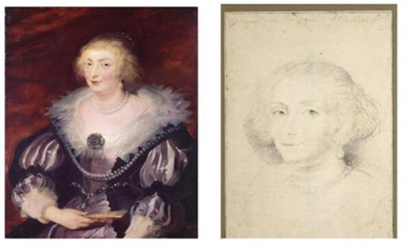 Фото портретов леди и Катарины Маннерс