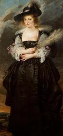 Рубенс. Портрет Елены Фоурмент, 1630, музей  Gulbenkian, Лиссабон, Португалия