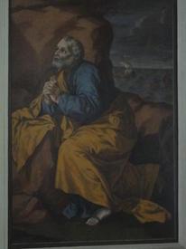 Местный ряд иконостаса. Икона св. Николая Мирликийского